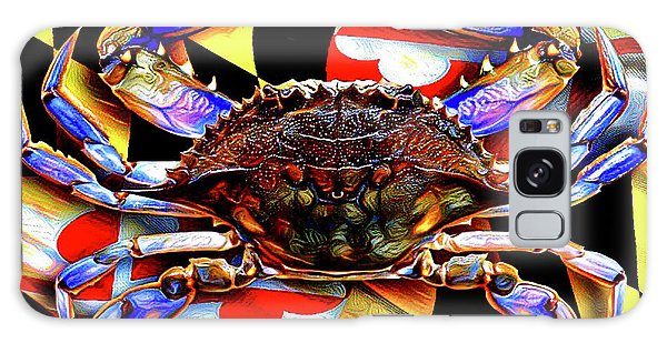Maryland Blue Crab Galaxy Case