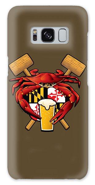 Maryland Crab Feast Crest Galaxy Case