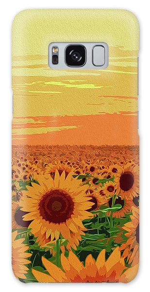 Maryland Sunflowers Galaxy Case