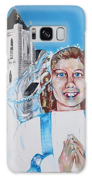 Mary's First Communion Galaxy Case