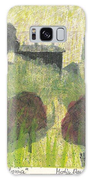 Mas En Provence Galaxy Case by Martin Stankewitz