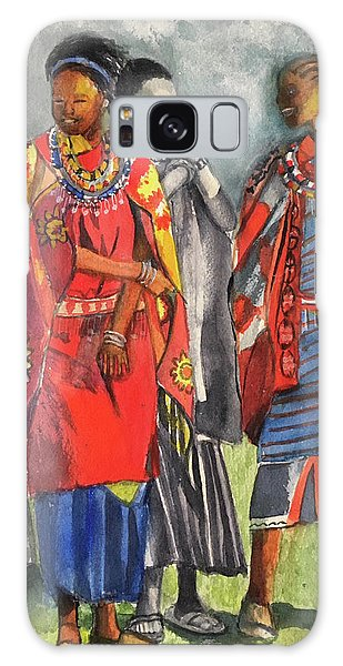 Masai Women Galaxy Case