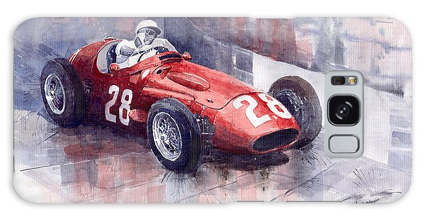 Sport Car Galaxy Case - Maserati 250 F Gp Monaco 1956 Stirling Moss by Yuriy Shevchuk