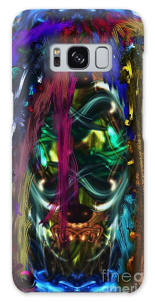 Mask Of The Spirit Guide Galaxy Case