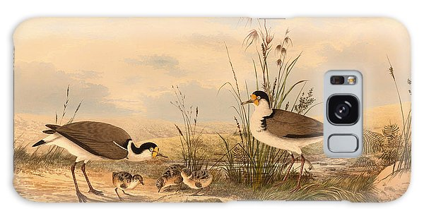 Lapwing Galaxy Case - Masked Lapwing by Mountain Dreams