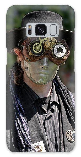 Masked Man - Steampunk Galaxy Case by Betty Denise