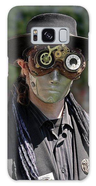 Masked Man - Steampunk Galaxy Case