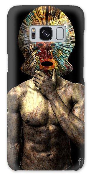 Masked Man Galaxy Case