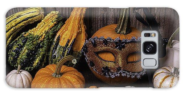 Mottled Galaxy Case - Masked Pumpkin by Garry Gay