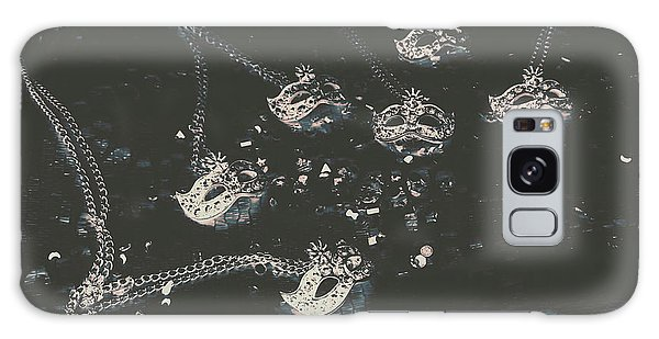 Jewels Galaxy Case - Masks From The Dark Carnival by Jorgo Photography - Wall Art Gallery