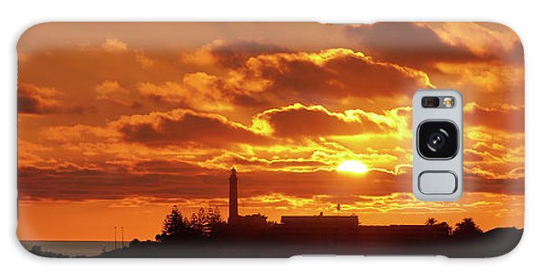 Maspalomas Sunset Panorama Galaxy Case