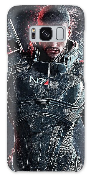 Mass Effect Galaxy Case by Taylan Apukovska