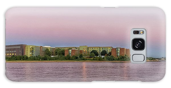Massachusetts Maritime Academy At Sunset Galaxy Case