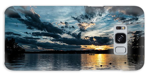 Masscupic Lake Sunset Galaxy Case