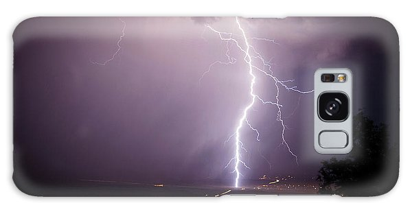 Massive Lightning Storm Galaxy Case