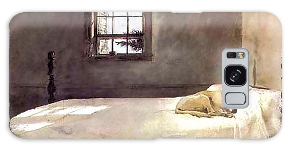 Master Bedroom  Galaxy Case by Andrew Wyeth