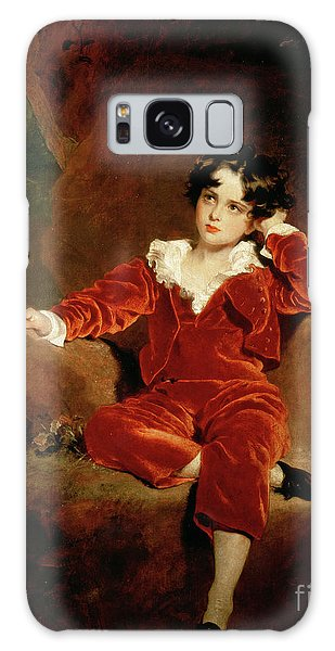 Portraiture Galaxy Case - Master Charles William Lambton by Sir Thomas Lawrence