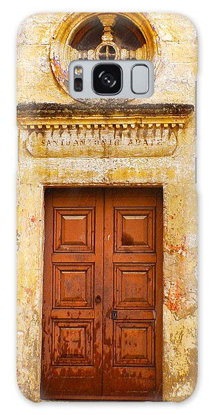 Matera Church Door Galaxy Case