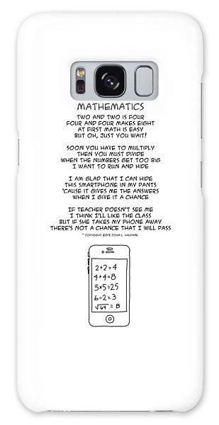 Galaxy Case featuring the drawing Mathematics by John Haldane