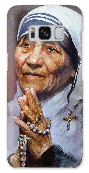 People Galaxy Case - Mother Teresa by Ylli Haruni