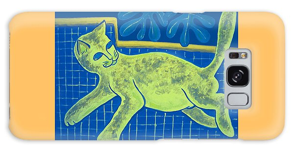 Matisse's Cat In Reverse Galaxy Case by George I Perez