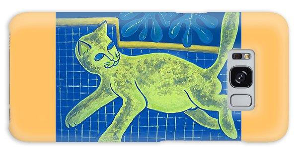 Matisse's Cat In Reverse Galaxy Case