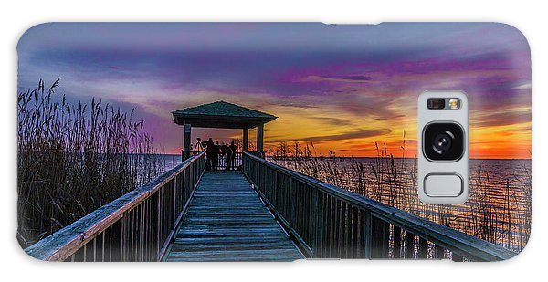 Galaxy Case featuring the photograph Mattamuskeet Lake by Donald Brown