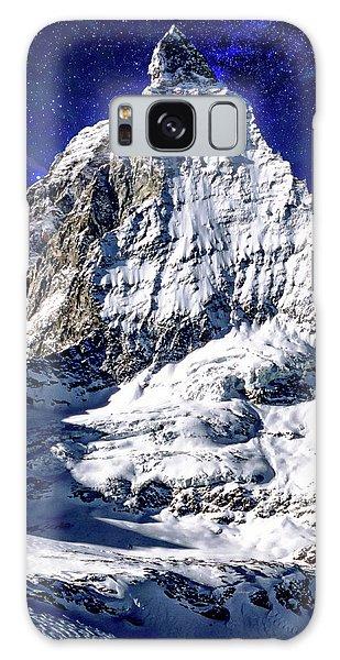 Matterhorn At Twilight Galaxy Case
