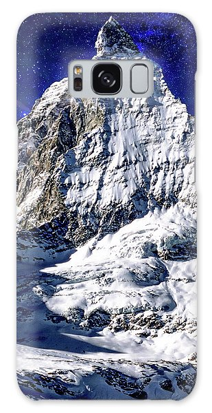 Matterhorn At Twilight Galaxy Case