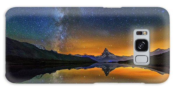 Matterhorn By Night Galaxy Case
