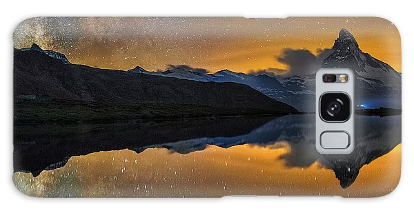 Matterhorn Milky Way Reflection Galaxy Case