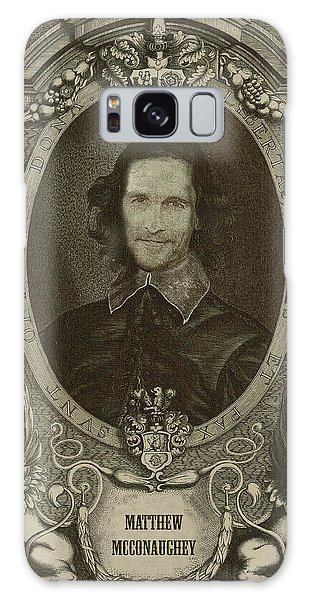 Matthew Mcconaughey   Galaxy Case by Serge Averbukh