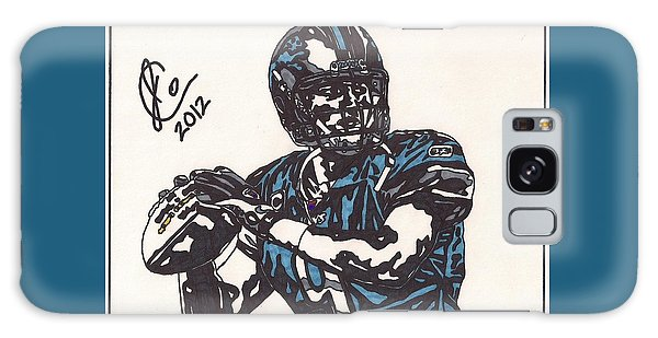 Matthew Stafford Galaxy Case by Jeremiah Colley
