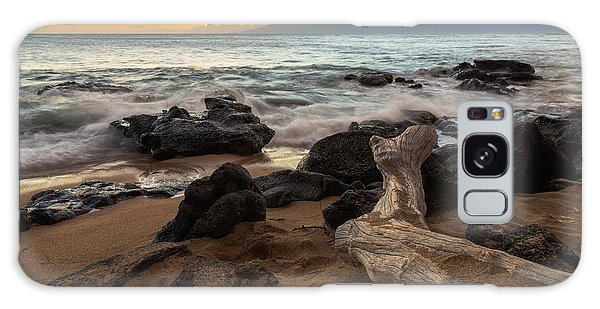 Maui Beach Sunset Galaxy Case