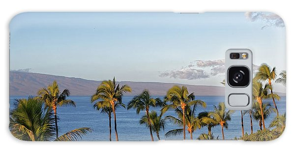 Galaxy Case featuring the photograph Maui Palms by Lars Lentz