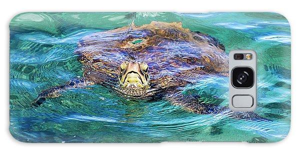 Maui Sea Turtle Galaxy Case