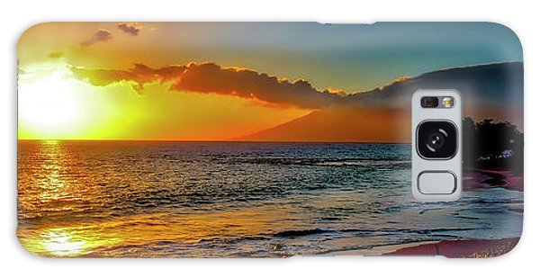Maui Wedding Beach Sunset  Galaxy Case