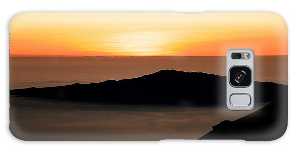 Mauna Kea Sunset Galaxy Case