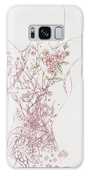 Maureen Galaxy Case by Karen Robey