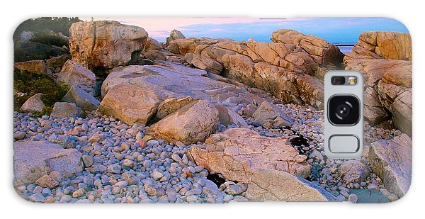 Mauve Light On Schoodic Penninsula Galaxy Case