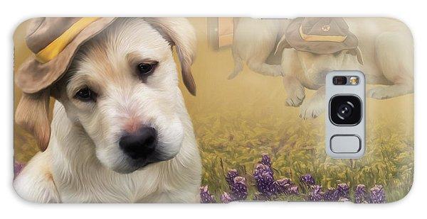 Maverick And Tori - Labrador Art Galaxy Case