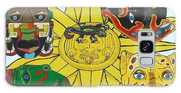 May  Aztec Masks Galaxy Case