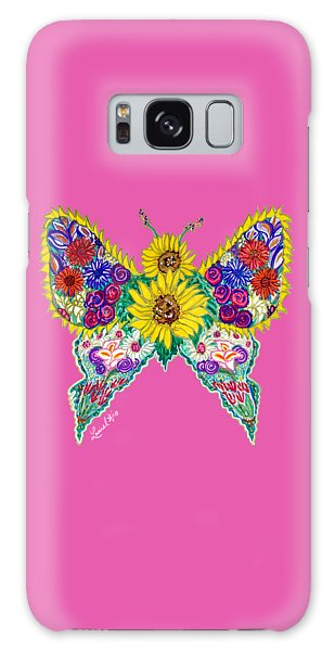 May Butterfly Galaxy Case