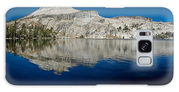 May Lake Panorama Galaxy Case