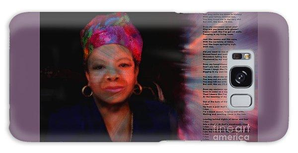 Maya Angelou Galaxy Case