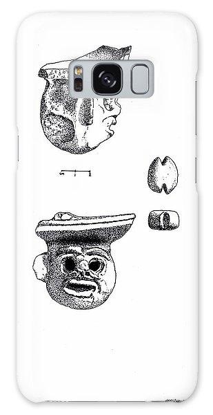 Maya Ceramic Head Galaxy Case