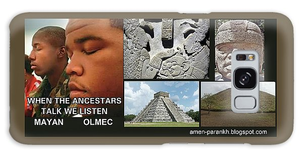 Mayan Olmec Galaxy Case