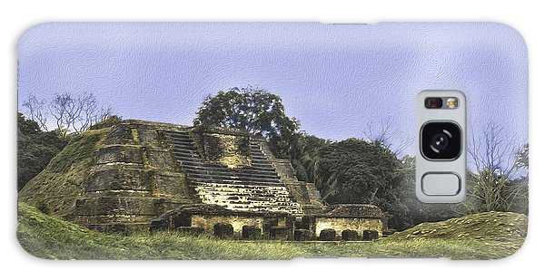Mayan Ruins In Belize Galaxy Case