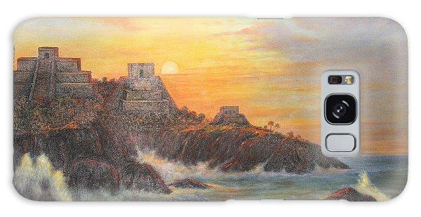 Mayan Sunset Galaxy Case