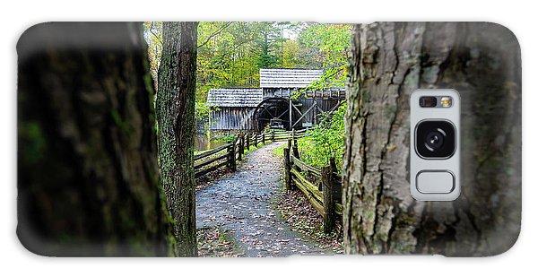 Maybry Mill Through The Trees Galaxy Case